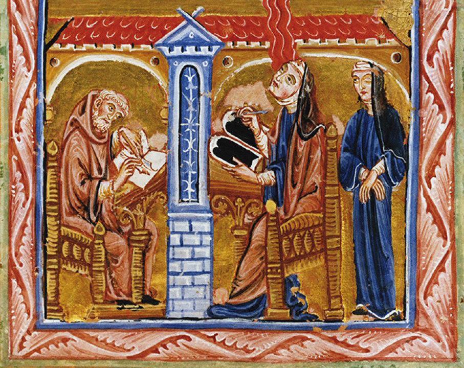 Hildegard Von Bingen: the hippy nun and her cosmiceggs